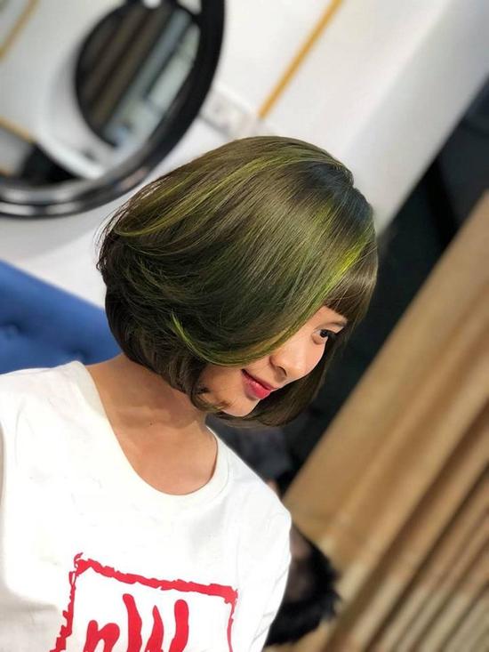 Trọn gói làm tóc Uốn/Nhuộm tại SALON TONY DUY chuyên về tạo kiểu Tóc Ngắn