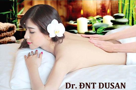 Xông hơi, tắm trắng da cám gạo thuốc bắc tại Dr. ĐNT DUSAN Spa & Clinic