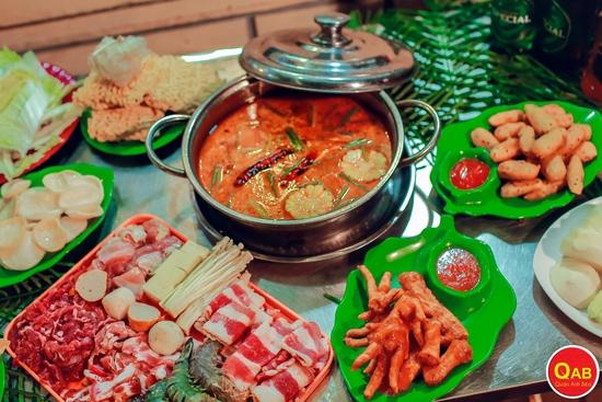 Set Lẩu Cua Đồng, chân gà chiên mắm ngon tuyệt hảo tại Quán Anh Béo Lý Thường Kiệt