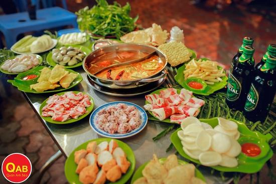 HOT - Siêu giảm giá ăn no say Buffet lẩu 79k Quán Anh Béo