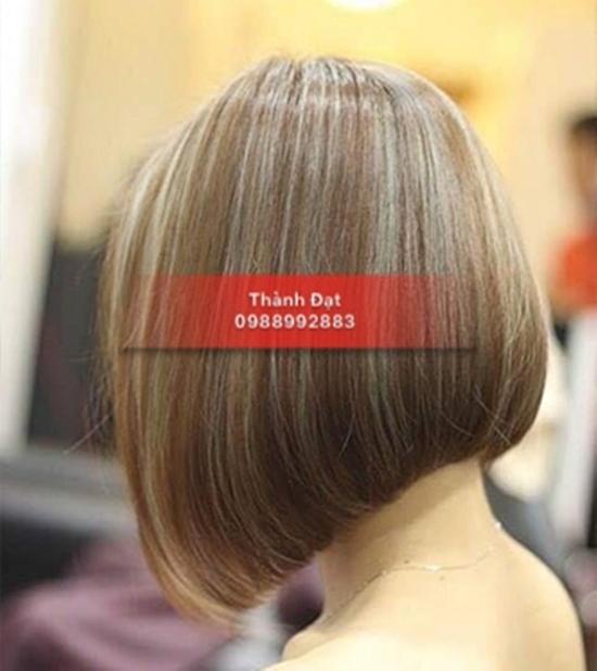 Combo Cắt tạo kiểu + gội + Nhuộm màu thời trang/nhuộm phủ bạc/nhuộm màu 3D Viện tóc Thành Đạt