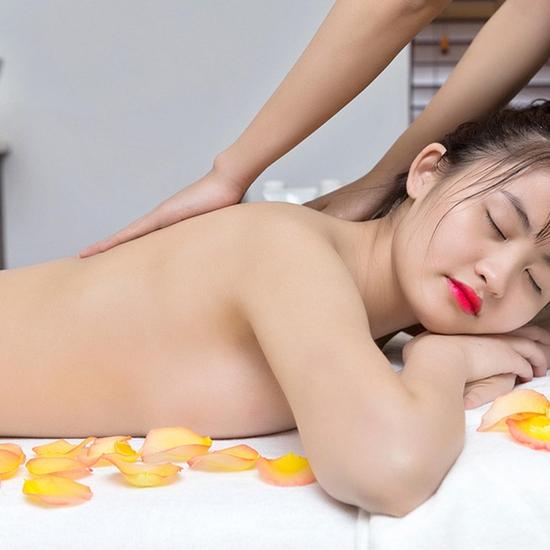 Combo Xông hơi đá muối Hàn Quốc, massage body 90' Thiên Thanh Beauty & Spa