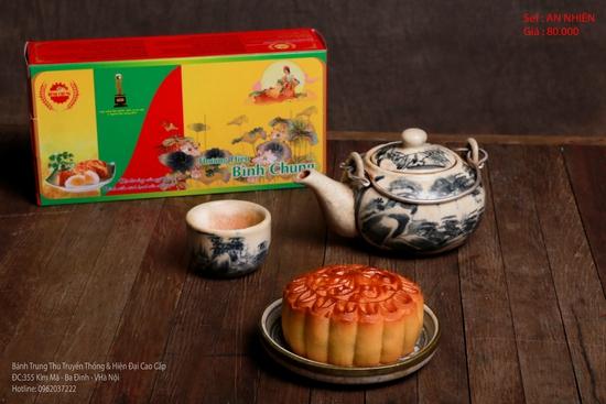 Bánh Trung Thu Cao cấp Bình Chung - 2 hộp bánh truyền thống AN NHIÊN