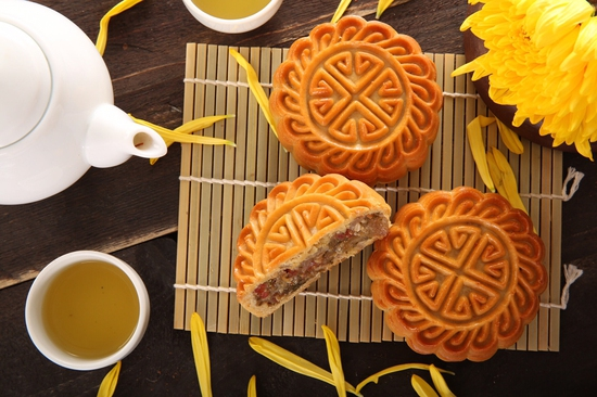 Hộp bánh Trung thu cao cấp Thu Nguyệt Bảo Ngọc 2018 - Hương Vị Truyền Thống