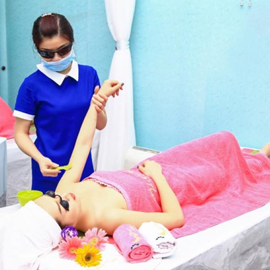 Trọn gói 10 buổi triệt lông CN Diode Laze Tại Spa Thảo