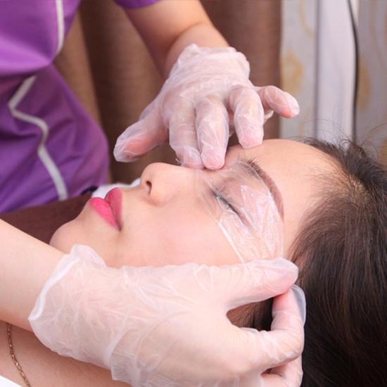 Điêu khắc lông mày 6D, Phun môi, Phun mí mở tròng, phun mày tán bột tại Minh Tuệ Spa