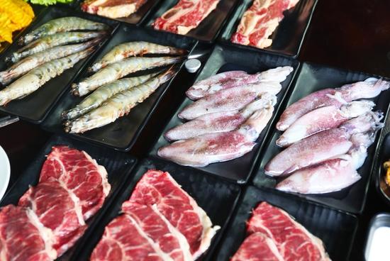 Buffet lẩu Thái hải sản - bò Mỹ Thượng hạng tại PP's BBQ & HOTPOT