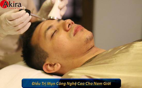 Ứng dụng 10 bước trong điều trị mụn cấp độ từ vừa đến nặng tại Akira Clinic Spa
