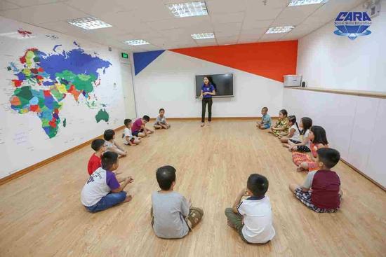 Khóa học Be Yourself tại Hệ thống giáo dục kỹ năng sống CARA