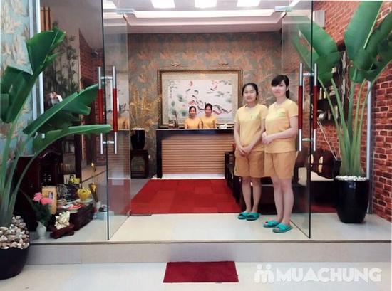 Chai -Yok xông phụ khoa Korea + uống trà tại Qeen's House