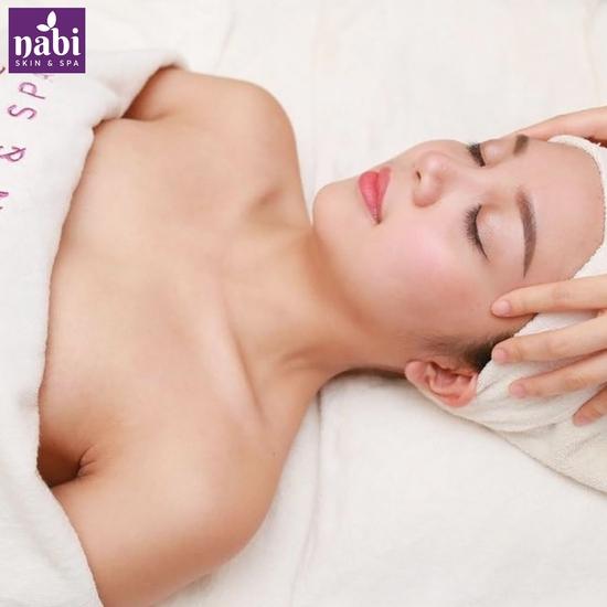 Chăm sóc da mặt dưỡng trắng, cấp ẩm chuyên sâu tại Nabi Skin & Spa