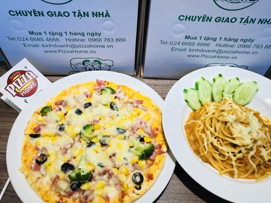 Combo Pizza + Mỳ ý hấp dẫn tại Pizza Home (3 cơ sở)