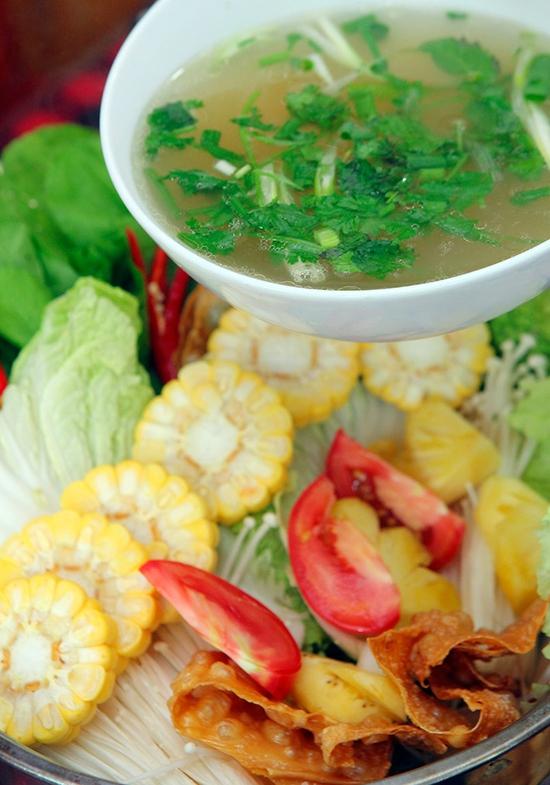 Ăn thả ga Buffet lẩu Bò Mỹ tại Kiencancook - 71 Nguyễn Khang