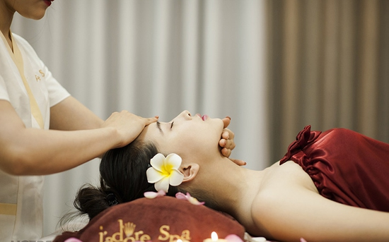 Chọn 1 trong 4 dịch vụ: Tẩy da chết body/ Massage mặt/ Massage vai cổ gáy/ Massage chân - Jadore Spa