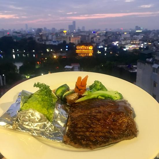 {Chỉ 179K) Set Bò Mỹ hảo hạng cho 1 người tại Nhà hàng Panorama
