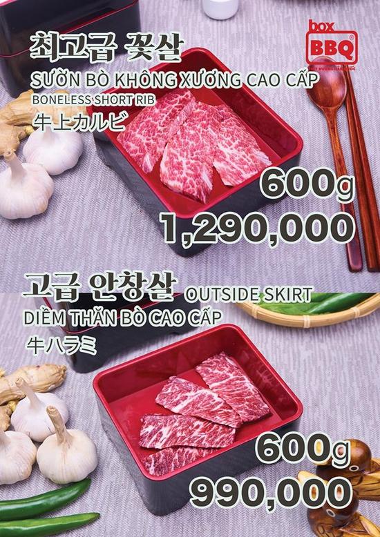 Thưởng thức Buffet Nướng Chuẩn Vị Hàn Tại Box BBQ- 착한고기