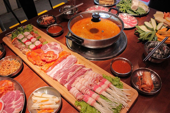 Buffet Lẩu Nướng Hàn Quốc Ăn Không Giới Hạn - NH Buk Buk 301 Tô Hiệu