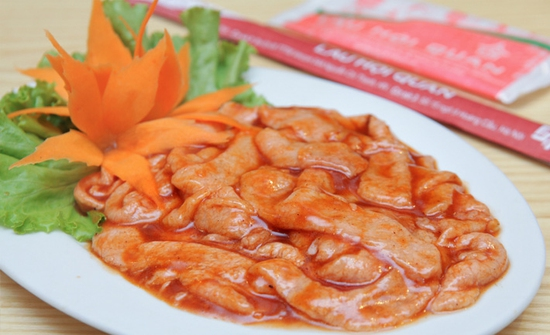 Butffet Nướng Xèo Xèo thỏa thích Menu 138K tại Nhà hàng Lẩu Hội Quán