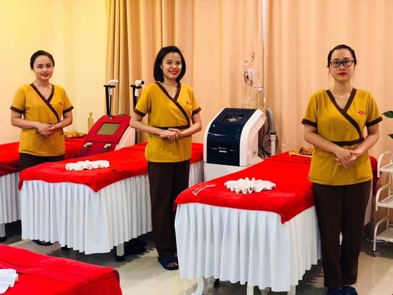 Da mịn màng trắng sáng với công nghệ Siêu trắng hồng Hàn Quốc tại Harmony Spa