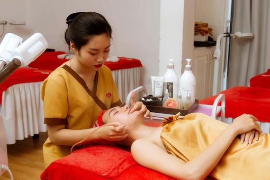 60 phút chăm sóc da đặc biệt bằng mặt nạ Collagen tươi tại Harmony Spa