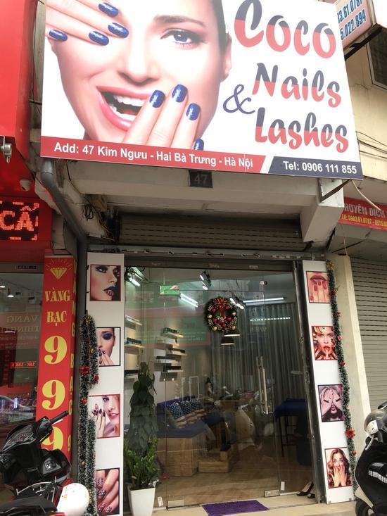 Nối mi lụa Hàn Quốc đón Tết tại Coco Nails & Lashes