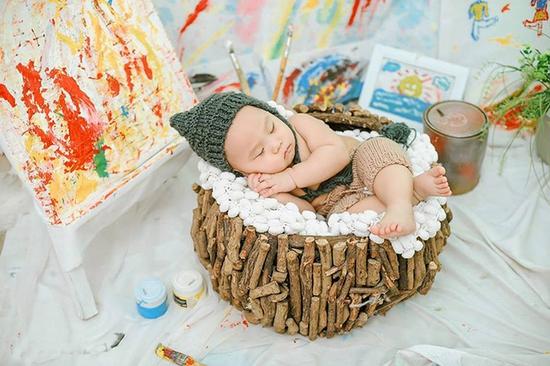 Gói chụp ảnh đẹp lung linh cho bé và gia đình tại Candy Studio