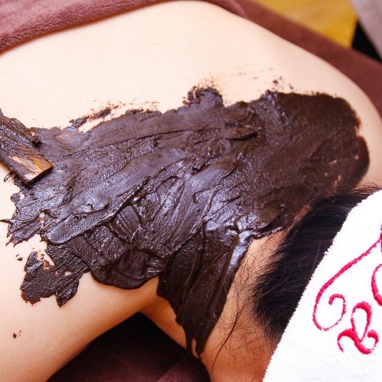 Massage, chải thông kinh lạc, đắp bùn cứu Nhật Bản đặc trị đau mỏi thải độc ''DETOX BODY'' - Sen Spa