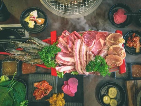 Set thịt nướng chuẩn vị Hàn - King Set 1 tại Nhà hàng CHUBIN BROTHERS