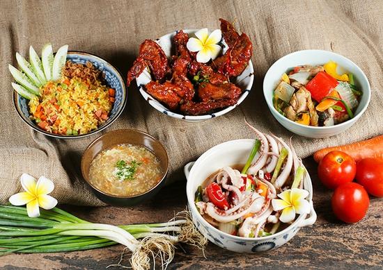 Thái BBQ Lê Văn Lương - Buffet Nướng Lẩu Thái Lan Menu VIP