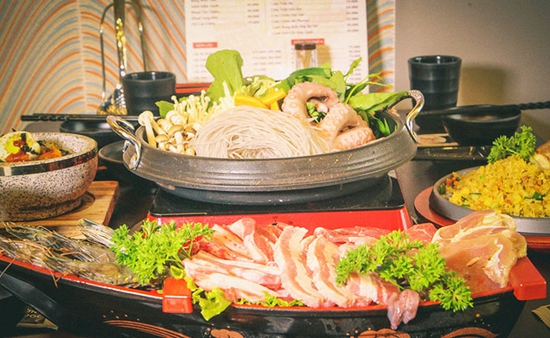 Set thịt nướng chuẩn vị Hàn - King Set 2 tại Nhà hàng CHUBIN BROTHERS