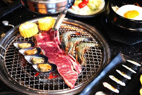 PP's BBQ & HOTPOT: Buffet Nướng Hải sản, Bò Mỹ tươi ngon hảo hạng