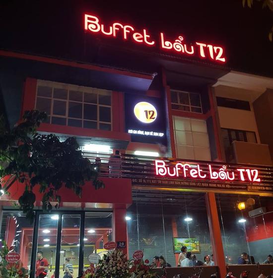 Buffet lẩu bò Mỹ ăn không phải nghĩ tại Nhà hàng Buffet Lẩu T12