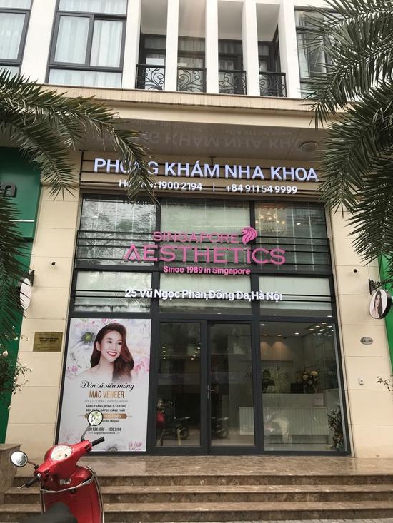 Khám nha khoa tổng quát + lấy cao răng + đánh bóng + Nhổ 1 răng khôn tại Nha khoa Singapore Aesthetics