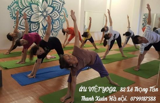 Thẻ tập Yoga 01 Tháng tại Âu Việt YOGA