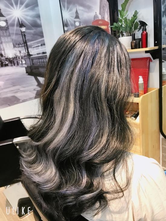 Cắt + Hấp thuỷ phân Nano Protein tươi hoặc nhuộm toán học công nghệ Đức - London Hair Dressing