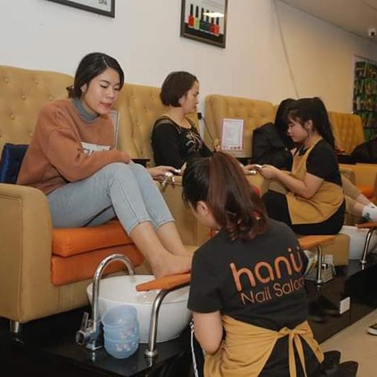 Combo sơn gel Korea + nối mi clasic tại Hanu Nail