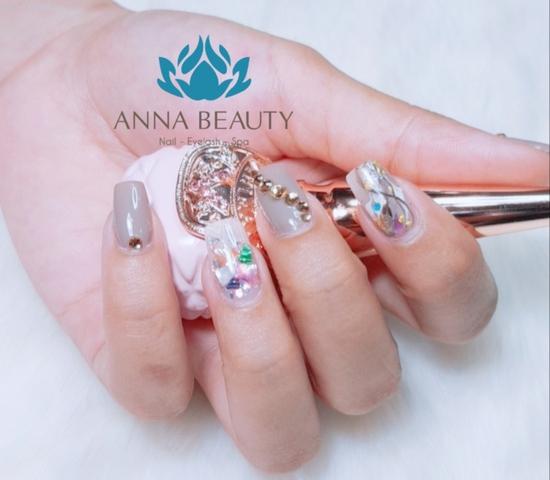 Sửa móng + sơn gel + Massage da mặt + đắp mặt nạ tinh chất tại Anna Beauty