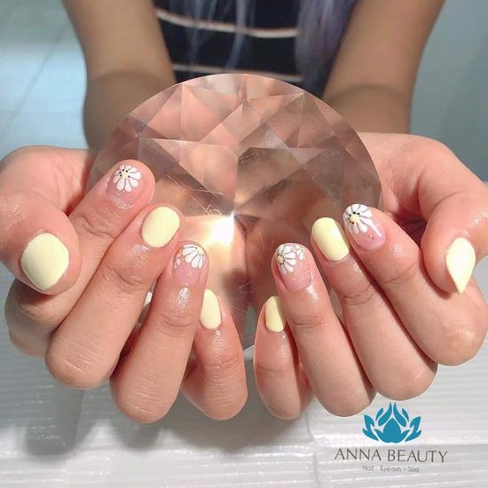 Sửa móng tay+ sơn gel+ nối mi tư nhiên Anna Beauty