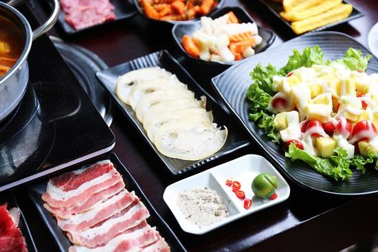 Buffet lẩu ngon bò mỹ tại nhà hàng PP's BBQ & HOTPOT