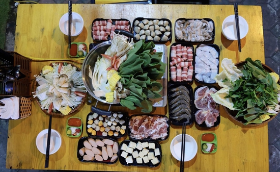 Buffet lẩu Hải sản ngon tươi ăn thỏa thích _Quán 289 - Lẩu & Nướng