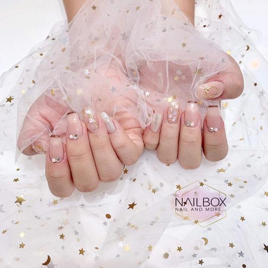 Chọn 1 trong 2 Combo làm đẹp xinh cho móng tại The Nail Box