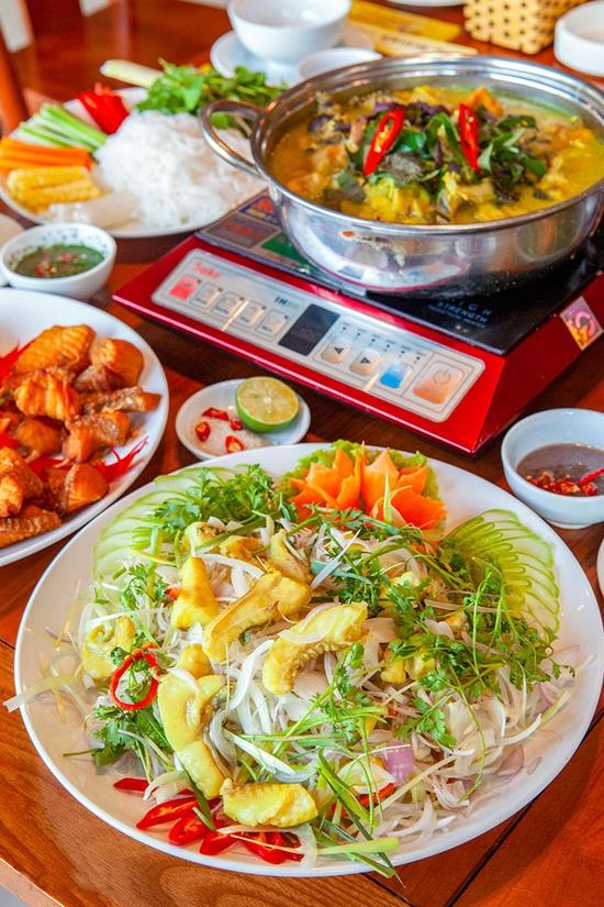 Set cá lăng đủ món cho 06 người tại Nhà Hàng Hoa Ban Quán