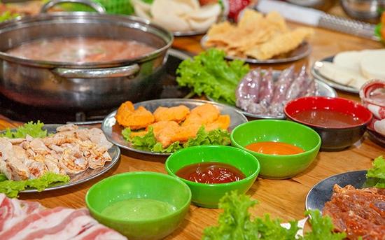 Buffet nướng lẩu thả ga - Giá chỉ 135K tại Nhà hàng Tú Béo