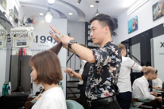 Trọn Gói Gội + Cắt + Uốn/Nhuộm/Ép - Tặng Hấp Phục hồi bảo vệ, Dưỡng óng mượt Tại 199X Hair Salon