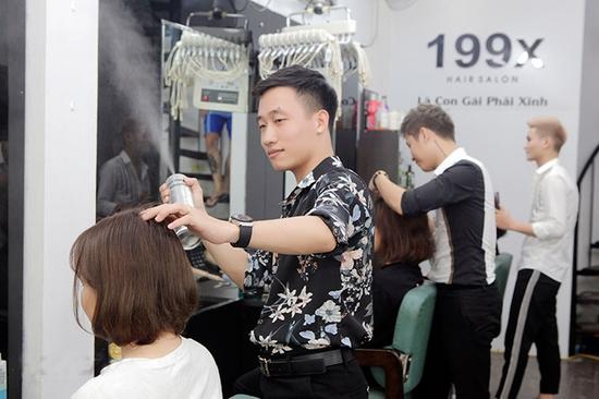 {Chỉ 49K} Combo Gội + Cắt + Sấy + Tạo kiểu chuyên nghiệp tại 199x Hair Salon