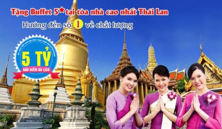 Khám phá Thái Lan: Bangkok - Pattaya 5N4D