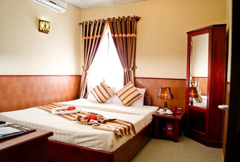 Nghỉ phòng Superior tại Khách sạn Kiều Anh Vũng Tàu, miễn phí Buffet sáng và Ăn tối (hoặc ăn trưa). Ưu đãi hấp dẫn chỉ 548.000đ/đêm