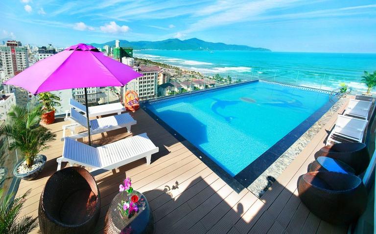 Aria Hotel 3,5* Đà Nẵng - 2 phút đi bộ đến biển Mỹ Khê