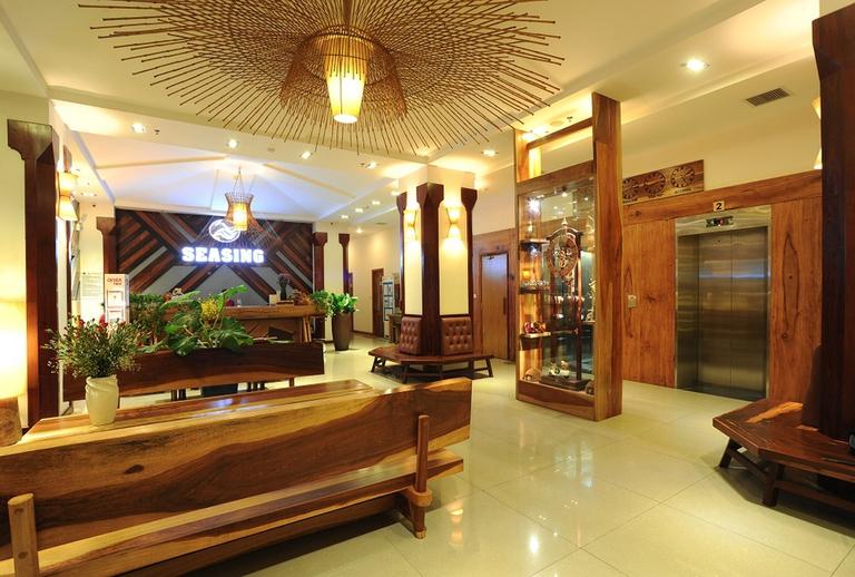 Seasing Boutique Hotel Nha Trang 4*- Gần biển, có bãi biển riêng, hồ bơi