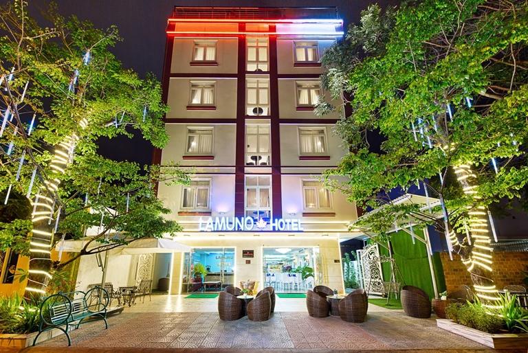 Lamuno Da Nang Hotel 3* + Buffet sáng - 5 phút tản bộ đến bãi biển Mỹ Khê
